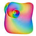 Abstract Rainbow Background Sh...