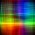 Abstract rainbow blurred lines color paint art background
