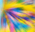 Abstract rainbow bright colorful background Royalty Free Stock Photo