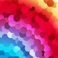 Abstract Rainbow Circles Background Royalty Free Stock Photos