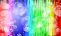 Abstract rainbow color background bubble illustrator Stock Image