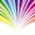 Abstract rainbow color stripe background Royalty Free Stock Photo