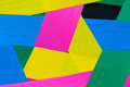 Abstract rainbow Colorful beautiful rose flower Paper background Royalty Free Stock Photo