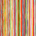 Abstract rainbow curved stripes color background Royalty Free Stock Photo