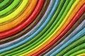 Abstract Rainbow Curvy Sticks ...
