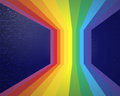 Abstract rainbow eps vector graphics Royalty Free Stock Photos