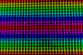 Abstract rainbow grid surface, color diversity, Royalty Free Stock Photo