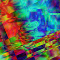 Abstract rainbow kaleidoscope psychedelic  background Royalty Free Stock Photo
