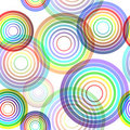 Abstract rainbow seamless backround Royalty Free Stock Photos
