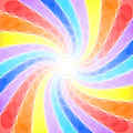 Abstract rainbow swirl background beautiful Royalty Free Stock Images