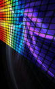 Abstract Rainbow Wall Stock Photography