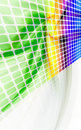 Abstract Rainbow Wall Royalty Free Stock Photo