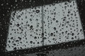 Abstract raindrop window Royalty Free Stock Photo
