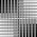 Abstract rectangles and stripes pattern white gray black netting Royalty Free Stock Photo
