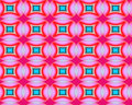 Abstract recurring pattern patterns are used in textile and lino industries movie industry as well as all creative arts Royalty Free Stock Photography