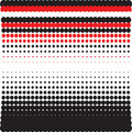 Abstract red -black -white background Stock Image