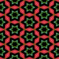 Abstract ornamental floral fractal nobody islamic seamless decorative pattern Royalty Free Stock Photo
