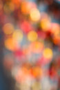 Abstract red bokeh for background Stock Photography