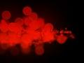 Abstract red bokeh circles Royalty Free Stock Photo