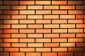 Abstract red brick wall background Stock Photography