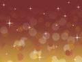 Abstract red and gold bokeh Christmas background with twinkling stars Royalty Free Stock Photo