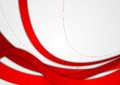 Abstract red and grey wavy corporate background Royalty Free Stock Photo