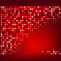 Abstract Red Halftone Vector Background Royalty Free Stock Images