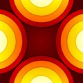 Abstract red and orange circles vector background rgb eps Royalty Free Stock Photography