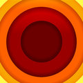Abstract red orange and yellow round shapes background rgb eps illustration Royalty Free Stock Image