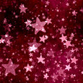Abstract red stars background with grunge effect Royalty Free Stock Photos