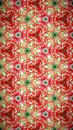 Abstract red white green line pattern wallpaper Royalty Free Stock Photo