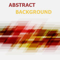 Abstract red and yellow geometric overlapping background