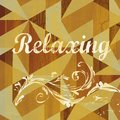 Abstract Relaxing Sentiment Grunge Design