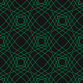 Abstract repeat backdrop. Green cyber grid, design for decor, prints, textile, furniture, cloth, digital.  Seamless texture Royalty Free Stock Photo