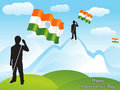 Abstract republic day wallpaper Stock Photos