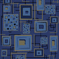 Abstract retro background - blue Royalty Free Stock Images