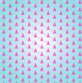 Geometric pattern with light rose triangles. Geometric modern ornament. Seamless abstract background Royalty Free Stock Photo