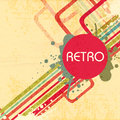 Abstract retro grungy background. Royalty Free Stock Photo
