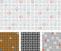 Abstract retro seamless pattern /vector Stock Photos