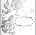 Abstract rose flower banner vector Royalty Free Stock Photos