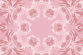 Abstract roses pattern pink with natural flowers of rose Royalty Free Stock Photography