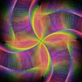 Abstract Rotating Colorful Fra...