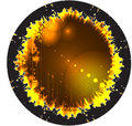 Abstract round disco design. Stock Photos