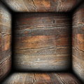 Abstract rusty wood backdrop empty interior for your design Stock Photo