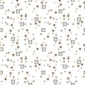 Abstract scattered small dot white background.