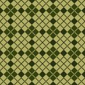 Abstract scottish plaid background of seamless diagonal pattern tartan fabric vector illustration Stock Photography