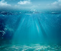 Abstract sea and ocean backgrounds Royalty Free Stock Photos