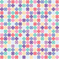 Abstract seamless background multicolored vector illustration Royalty Free Stock Images