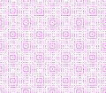 Abstract seamless background of pink and white lines and squares Royalty Free Stock Photo