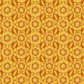 Abstract seamless background of yellow and brown Stock Photos